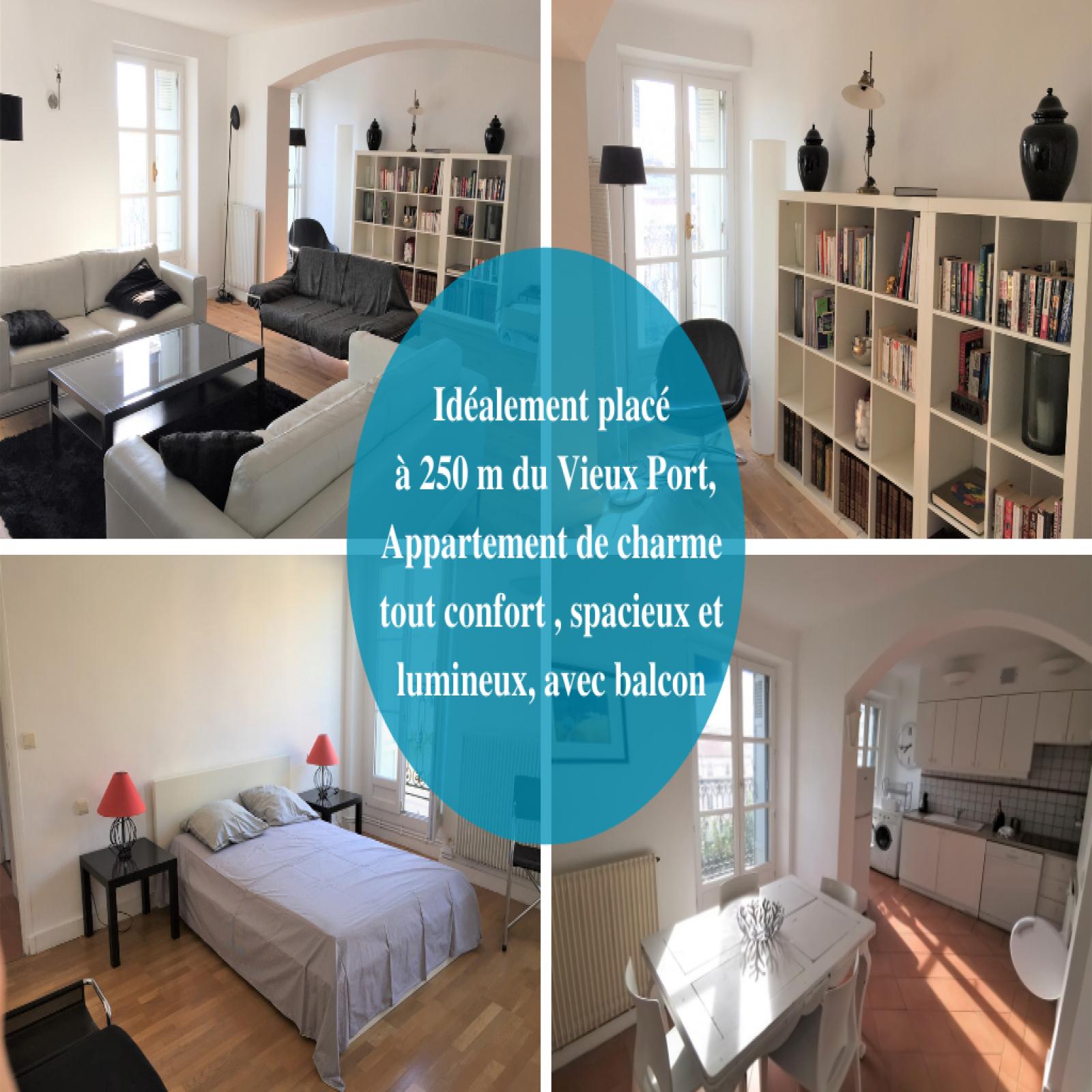 Image_1, Appartement, Marseille, ref :202108191